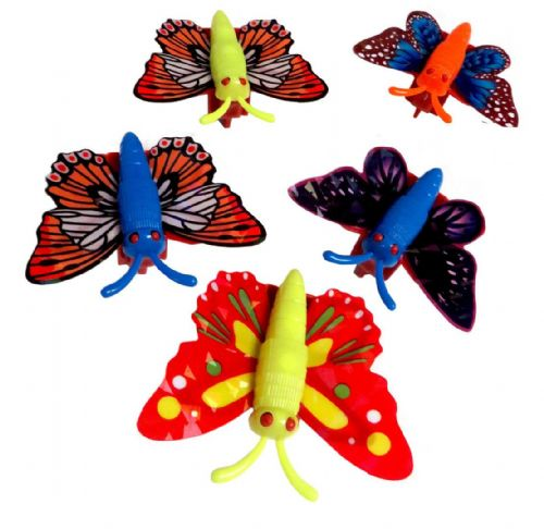 Butterfly - pull back toy